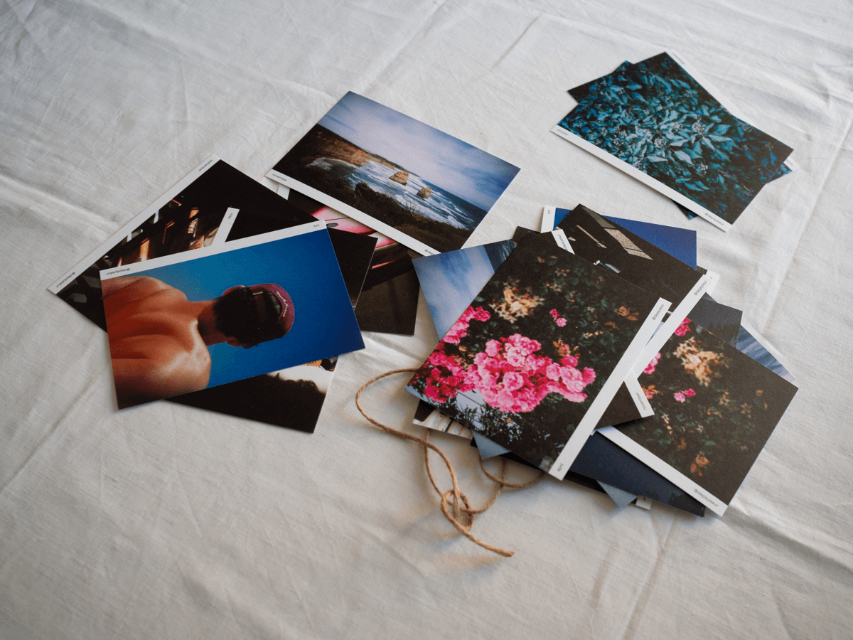 POSTCARDS OVER EMAILS — print